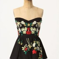Midnight Blooms Corset - Anthropologie.com