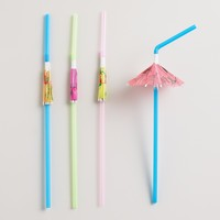 Umbrella Straws, Set of 24 - World Market