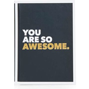 You Are So Awesome Book - Gifts & Novelty - Bags & Accessories