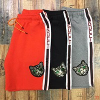Gucci Swim Shorts, Black Mens Swim Trunks - Sizes: S, M, L, XL, XXL