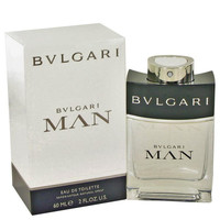 Bvlgari Man by Bvlgari Eau De Toilette Spray 2 oz
