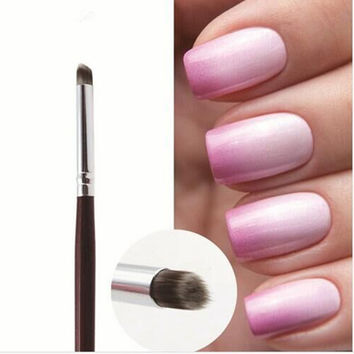 1 PCS Nail Art Brush Manicure Gel Polish Brush Gradual Color Blooming Nail Drawing Pen Nail Brush DIY Tools