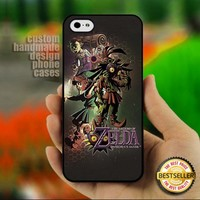 The Legend Of Zelda Majora's - Print on Hard Cover for iPhone 4,4S