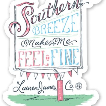 Lauren James Southern Breeze Sticker