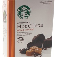 Starbucks Hot Cocoa Salted Caramel 8 1oz Packages Mix Just Add Hot Milk
