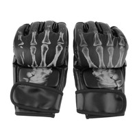 Male PU Leather Pair Of Boxing Punch Gloves 0951-13