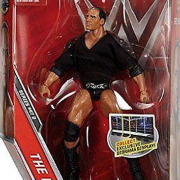 WWE The Rock Action Figure Elite 47 B Mattel Toy NEW
