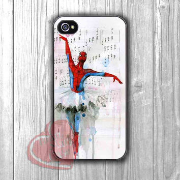 Spiderman Ballet Cell Phone Case -srw for iPhone 4/4S/5/5S/5C/6/ 6+,samsung S3/S4/S5,samsung note 3/4