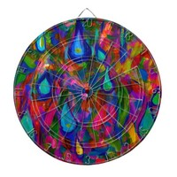 Rain Drops Dart Boards
