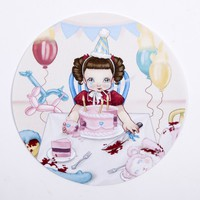 Smoking Little Girl Slipmat - Accessories