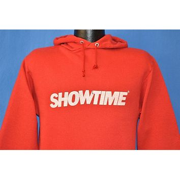 80s Showtime Cable Television Channel Hooded Sweatshirt Small
