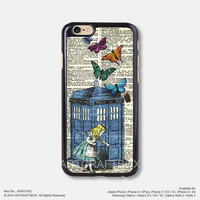 Alice in wonderland iPhone Case Black Hard case 402-602