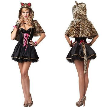 PEAPIX3 Hats Scarf Bra Leopard Devil Princess Dress [9220890948]