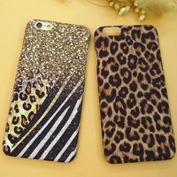 Unique Leopard Mobile Phone Case For Iphone  6 6s 6plus 6s plus + Nice gift box!