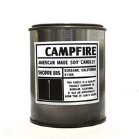 Campfire Tin Candle - Soy Candle - Home Decor - Shoppe 815 | Shoppe 815