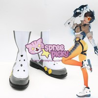 Custom Made Overwatch Tracer Cosplay Shoes SP167919