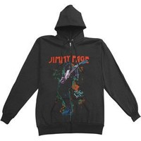 Led Zeppelin - Hooded Sweatshirts - Zippered Band