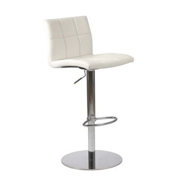 Eurostyle Cyd Adjustable Height Bar/ Counter Stool in White