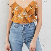 Meadow Ruffle Top