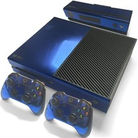 Blue Chrome Skin - Xbox One Protector