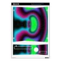 Modern abstract pattern decal for xbox 360 s