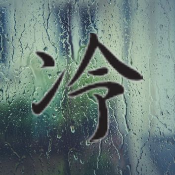 Cool Kanji Symbol Style #4 Vinyl Decal - Outdoor (Permanent)