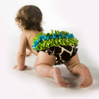 Giraffe Bloomer | Baby | Mud Pie