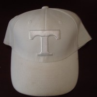 TEXAS RANGERS BASEBALL FITTED L/XL SCRIPT VINTAGE 90'S HAT CAP
