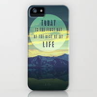 TODAY iPhone & iPod Case by SUNLIGHT STUDIOS