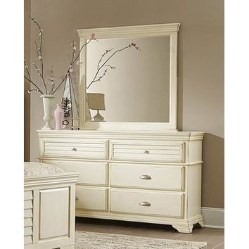 Homelegance Laurinda Dresser In Antique White