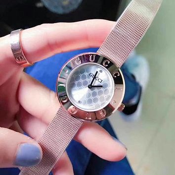 GUCCI Women Fashion Quartz Movement Watch