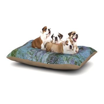 "Marianna Tankelevich ""Wild Forest"" Blue Trees Dog Bed"