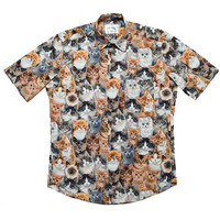 Nermal Button Down