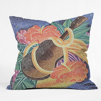 Deb Haugen Live Aloha Throw Pillow