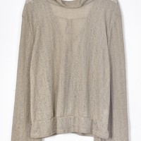Cupshe Take A Walk Solid Top
