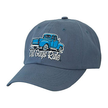 "Old Guys Rule Men's ""It Took Decades"" Hat (One Size)"