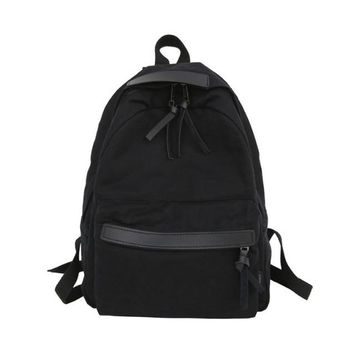 Student Backpack Children KUJING Backpack High Quality Solid Color Canvas Women Travel Leisure Backpack Fashion Student Backpack Hot Luxury Women Backpack AT_49_3