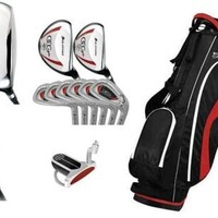 Orlimar OCG Men's Edition Full Golf Club Set: w/Stand Bag & Putter; Right Hand Cadet, Regular or Tall Length; 460cc Driver Fast Shipping:Amazon:Sports & Outdoors