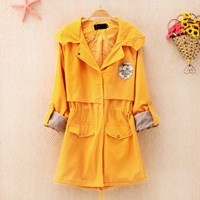 Coat with Hoodie for Women 1