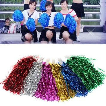 Modish Cheer Dance Sport Supplies Competition Flower Ball Lighting Up Party Cheering Fancy Pom Poms School opening day