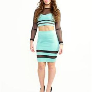Bombshell Bodycon Mint