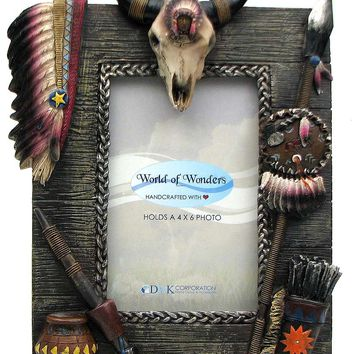 Spirit Indian Picture Frame