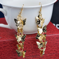 Vintage Butterfly Ladies Earrings [4915616260]