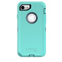 OtterBox DEFENDER SERIES Case for iPhone 8 & iPhone 7 (NOT Plus) - Retail Packaging - BOREALIS (TEMPEST BLUE/AQUA MINT)