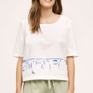 Coronado Top by Anthropologie in White Size: