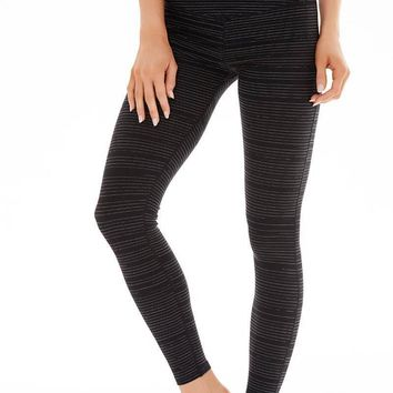 Preston Legging - Black Linear