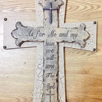25off SUMMER-SALE Religious Cross Decor
