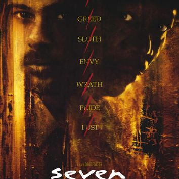 Seven 27x40 Movie Poster (1995)