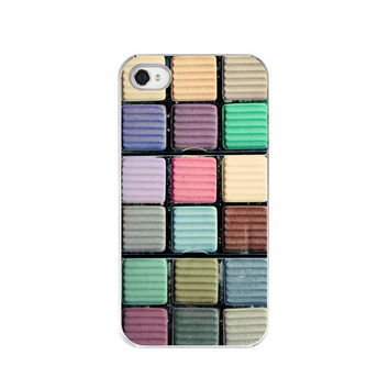 iPhone Case  Colorful Eyeshadow Makeup  Fine by paperangelsphotos