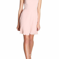 Rosalina Scalloped Dress
